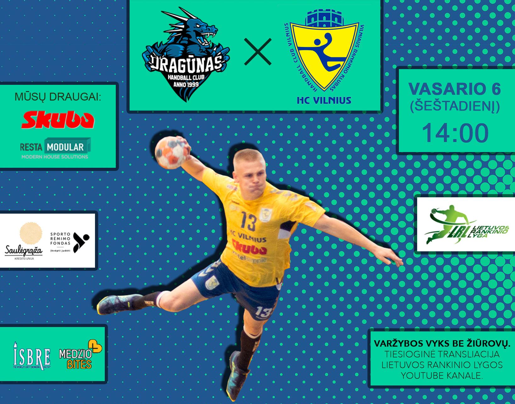 Kadangi LRF taurės varžybos nukeliamos į vasario 13–14 d., šį savaitgalį važiuojame į Klaipėdą 🤾💪