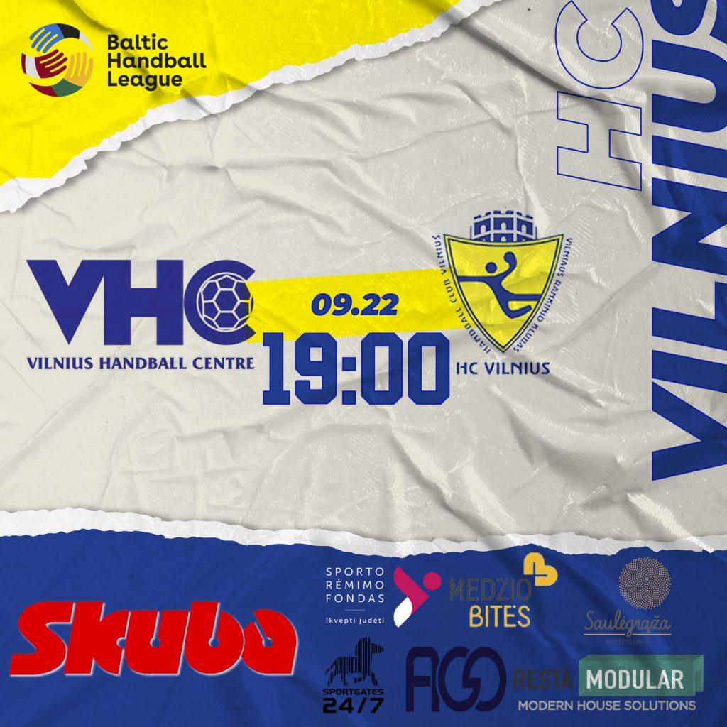 "Vilniaus derbis su Vilniaus ""VHC Šviesa"""